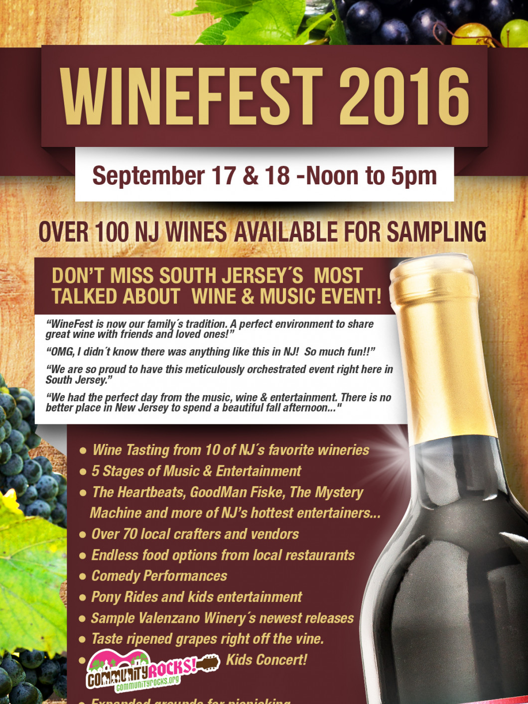 The Valenzano Winefest 2016